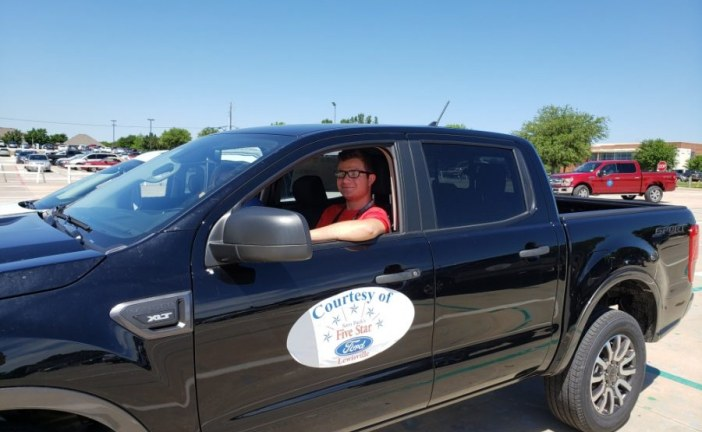 Test-drive a Ford for a good cause Thursday in Lewisville