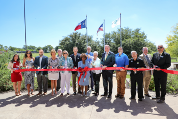 Denton County cuts the ribbon on completed road project