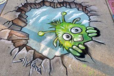 Flower Mound to hold chalk art contest