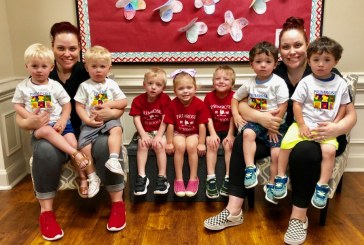Local preschool celebrates National Twins Day