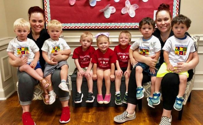 Local preschool celebrates National Twins Day