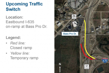 New bridge to open at Hwy 121, I-635
