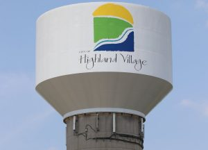 Highland Village Water Tower