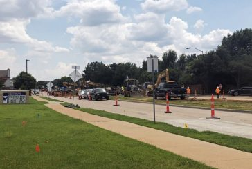 Roadwork at Forestwood Middle School expected to clear up before start of school
