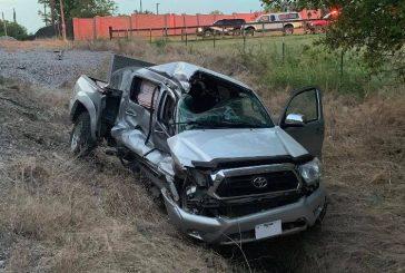 Truck-train crash injures one in Flower Mound