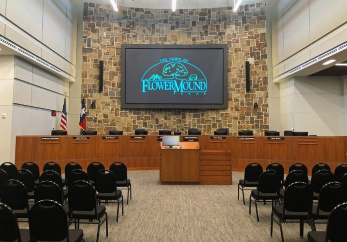 Flower Mound Town Hall Council Chamber