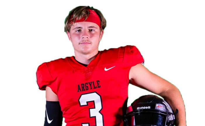 Argyle QB named Texas High School Football Player of the Week