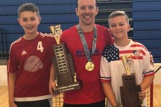 Local floorball teams earn national titles