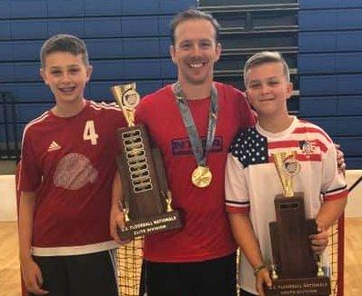 VanPattens at Floorball Nationals