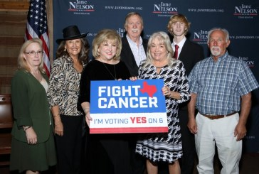 Nelson recognized for investment in cancer research