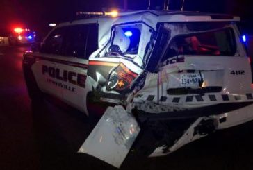 Another DWI suspect crashes into Lewisville police SUV