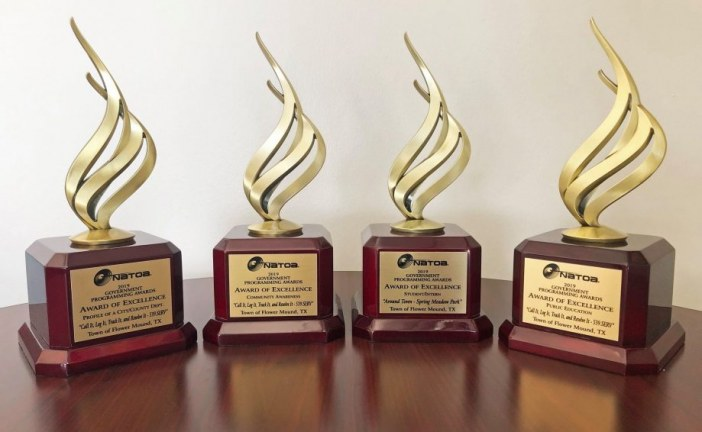 Flower Mound takes home 7 national awards for videos