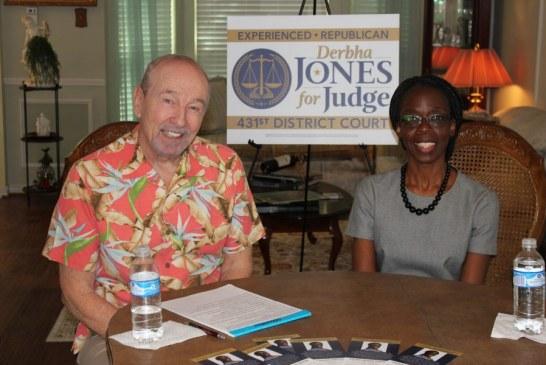 Weir: Derbha Jones running for Judge of the 431st District Court