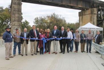 Denton County cuts the ribbon on re-opened Old Alton Bridge