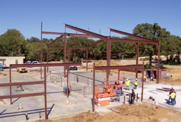 Construction going vertical on Flower Mound's Fire Station No. 7