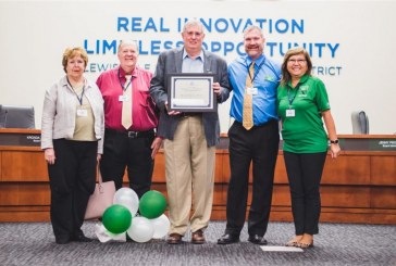 LISD superintendent receives Excellence in Educational Leadership award