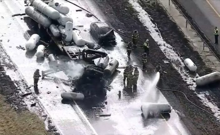 Officials identify victims of Friday's explosive crash on I-35W
