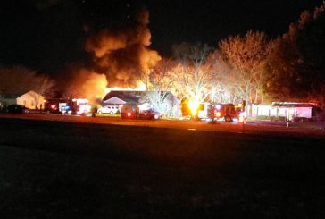 Local firefighters respond to two structure fires Wednesday night