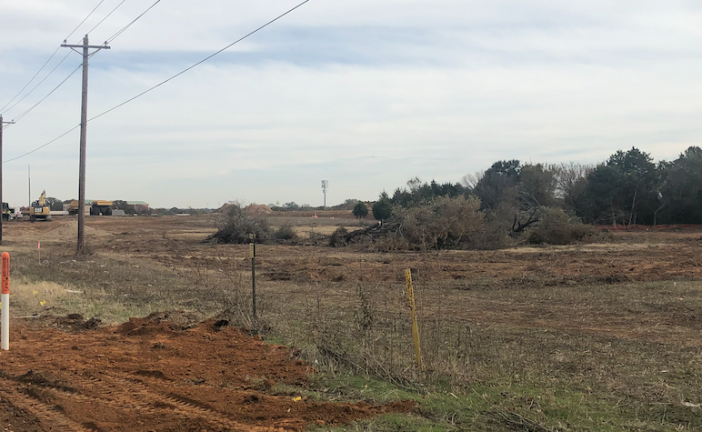 Land clearing begins on Vickery Park
