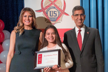 Local siblings win national awards, meet First Lady