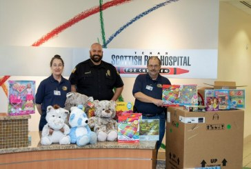 FMPD donates leftover toy donations to children's hospitals