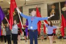 Everything's coming up roses for color guard director