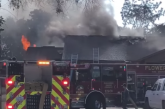Flower Mound FD quickly extinguishes house fire