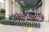 Lantana family equips school with bike-riding program