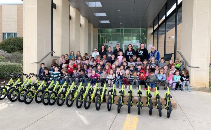 Lantana family equips school with bike-riding program