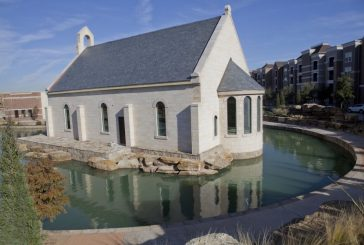 River Walk chapel and meeting hall set to open this spring