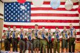 Ten local scouts earn highest award