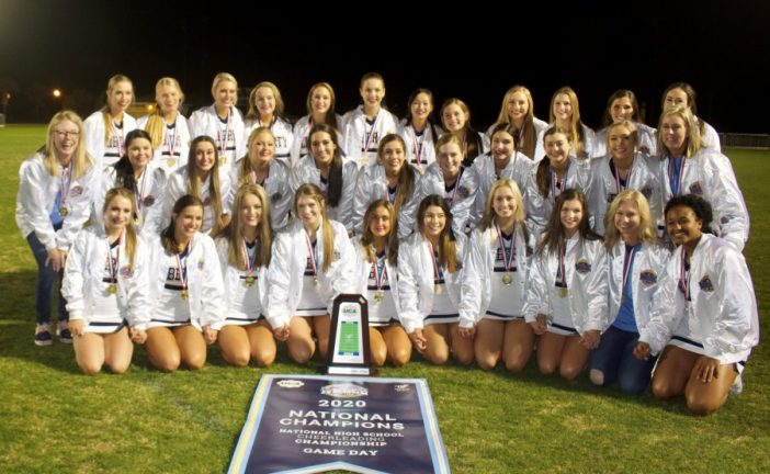 Liberty Christian cheerleaders win national championship