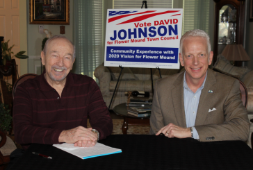 Weir: David Johnson running for Flower Mound Council