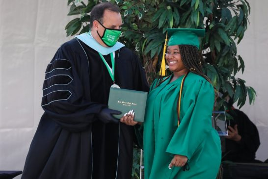 Foster care student overcomes lifetime of uncertainty to graduate high school