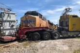Train strikes truck in Argyle