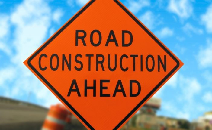 Roadwork affecting traffic on FM 2499