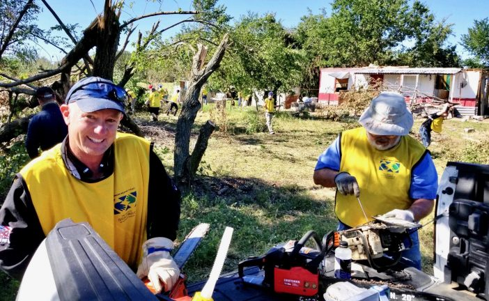 Church offers helping hands in tornado relief