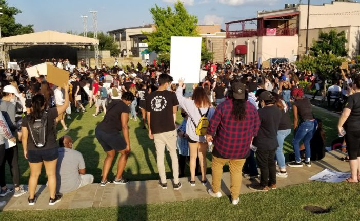Lewisville police explain what led to tear gas, arrests at protest
