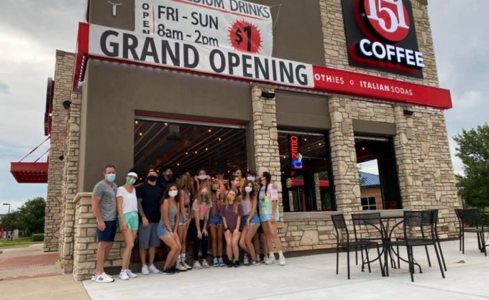 151 Coffee opens in Roanoke, temporarily closes in Flower Mound