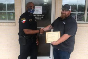 Argyle PD honors public works employee