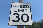 Lower speed limits proposed in Harvest