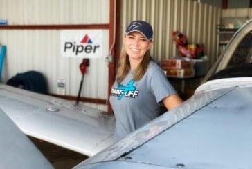 Sky's no limit for Lantana pilot