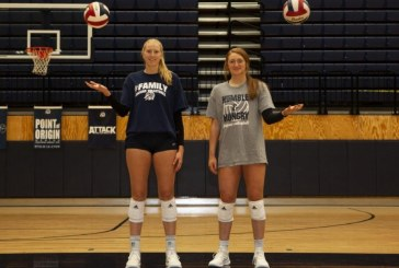 Dynamic duo guides Flower Mound volleyball team