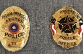 Argyle PD gets new, unique badges