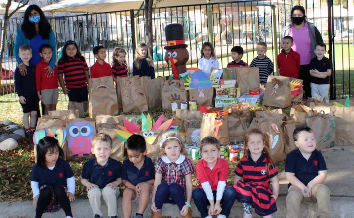 Local Primrose Schools make large Thanksgiving donation