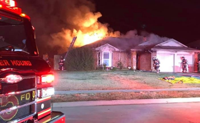 Flower Mound firefighters rescue resident during house fire