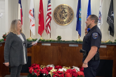 New Double Oak police chief sworn in