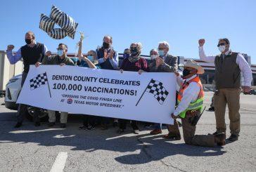 Denton County marks 100,000th COVID-19 vaccination