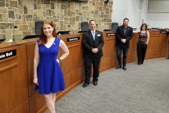 Candidates field questions at Flower Mound mayoral forum